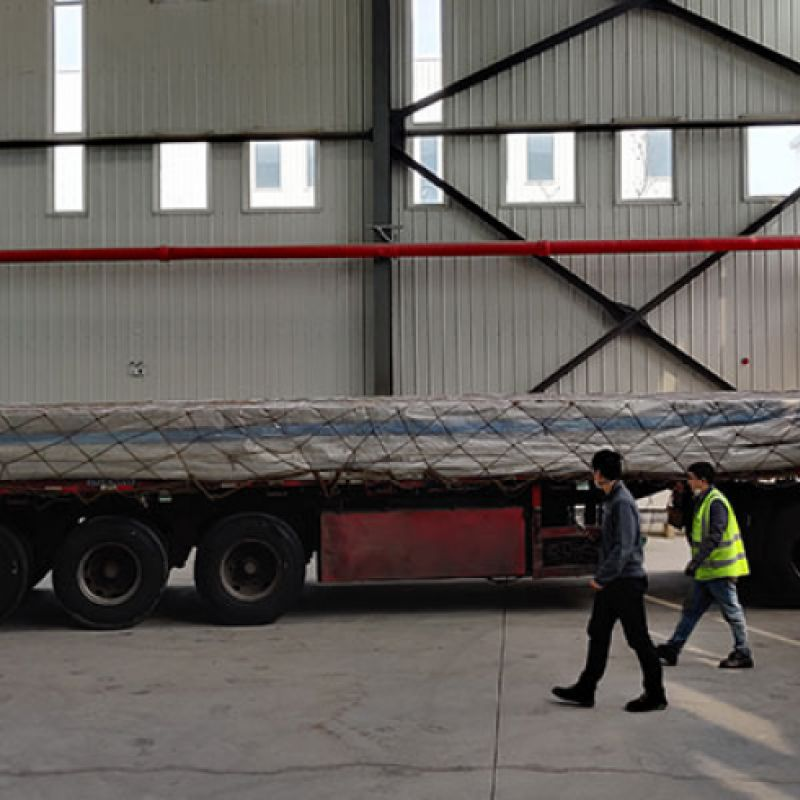 Delivery of new assembly elements...
